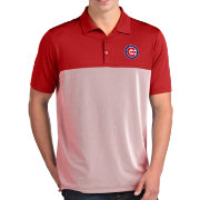 Antigua Men's Chicago Cubs Venture Red Performance Polo