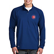 Antigua Men's Chicago Cubs Royal Sonar Performance Quarter-Zip Pullover