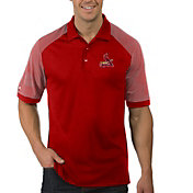 Antigua Men's St. Louis Cardinals Engage Red Polo