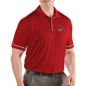 Antigua Men's St. Louis Cardinals Salute Red Performance Polo