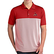Antigua Men's St. Louis Cardinals Venture Red Performance Polo
