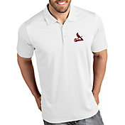 Antigua Men's St. Louis Cardinals Tribute White Performance  Polo