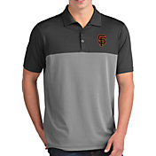 Antigua Men's San Francisco Giants Venture Grey Performance Polo
