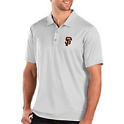 Antigua Men's San Francisco Giants White Balance Polo