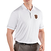 Antigua Men's San Francisco Giants Salute White Performance Polo
