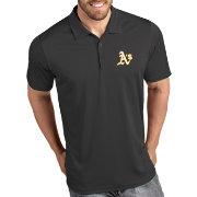 Antigua Men's Oakland Athletics Tribute Grey Performance  Polo