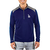 Antigua Men's Los Angeles Dodgers Velocity Quarter-Zip Pullover