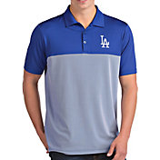 Antigua Men's Los Angeles Dodgers Venture Royal Performance Polo