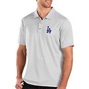 Antigua Men's Los Angeles Dodgers White Balance Polo