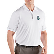 Antigua Men's Seattle Mariners Salute White Performance Polo