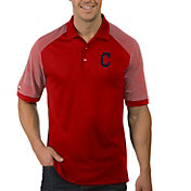 Antigua Men's Cleveland Indians Engage Red Polo