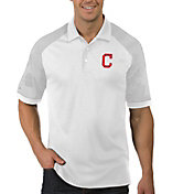 Antigua Men's Cleveland Indians Engage White Polo