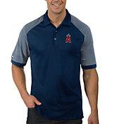 Antigua Men's Los Angeles Angels Engage Navy Polo