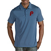 Antigua Men's Philadelphia Phillies Quest Performance Polo