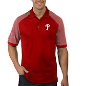 Antigua Men's Philadelphia Phillies Engage Red Polo