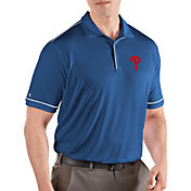 Antigua Men's Philadelphia Phillies Salute Royal Performance Polo