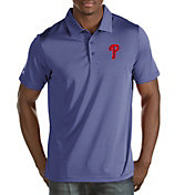 Antigua Men's Philadelphia Phillies Quest Royal Performance Polo