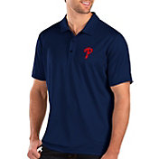 Antigua Men's Philadelphia Phillies Royal Balance Polo