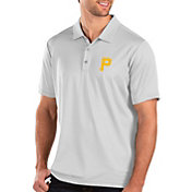 Antigua Men's Pittsburgh Pirates White Balance Polo