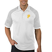 Antigua Men's Pittsburgh Pirates Engage White Polo