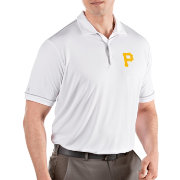 Antigua Men's Pittsburgh Pirates Salute White Performance Polo