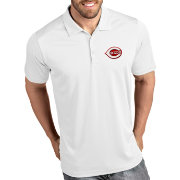Antigua Men's Cincinnati Reds Tribute White Performance  Polo