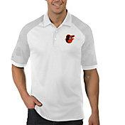 Antigua Men's Baltimore Orioles Engage White Polo