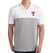 Antigua Men's Texas Rangers Venture White Performance Polo