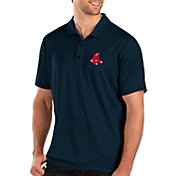 Antigua Men's Boston Red Sox Navy Balance Polo
