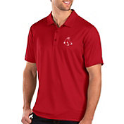 Antigua Men's Boston Red Sox Red Balance Polo