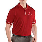 Antigua Men's Boston Red Sox Salute Red Performance Polo