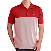 Antigua Men's Boston Red Sox Venture Red Performance Polo