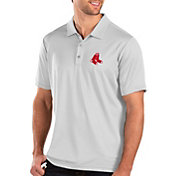 Antigua Men's Boston Red Sox White Balance Polo