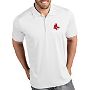 Antigua Men's Boston Red Sox Tribute White Performance  Polo
