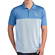 Antigua Men's Tampa Bay Rays Venture Light Blue Performance Polo