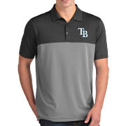 Antigua Men's Tampa Bay Rays Venture Grey Performance Polo