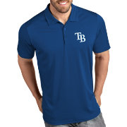 Antigua Men's Tampa Bay Rays Tribute Royal Performance  Polo