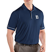 Antigua Men's Detroit Tigers Salute Navy Performance Polo