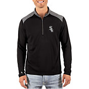 Antigua Men's Chicago White Sox Velocity Quarter-Zip Pullover