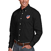 Antigua Men's FC Cincinnati Dynasty Black Button Down Long Sleeve Shirt