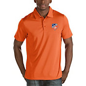Antigua Men's FC Cincinnati Quest Orange Polo