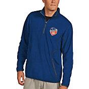 Antigua Men's FC Cincinnati Ice Royal Quarter-Zip Pullover