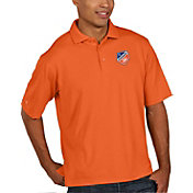Antigua Men's FC Cincinnati Pique Orange Polo