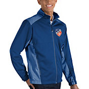 Antigua Men's FC Cincinnati Revolve Royal Full-Zip Jacket