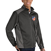 Antigua Men's FC Cincinnati Revolve Charcoal Full-Zip Jacket