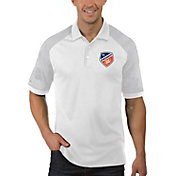 Antigua Men's FC Cincinnati Engage White Polo