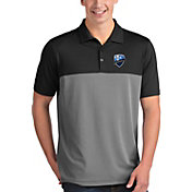 Antigua Men's Montreal Impact Venture Black Polo