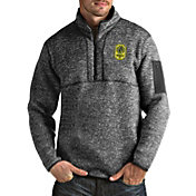 Antigua Men's Nashville SC Fortune Grey Quarter-Zip Pullover