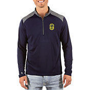 Antigua Men's Nashville SC Velocity Navy Quarter-Zip Pullover