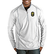 Antigua Men's Nashville SC Tempo White Quarter-Zip Pullover